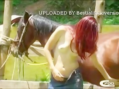 Pony fucking with girl